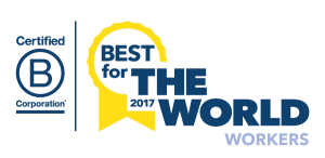 Enrollment Resources was honored with three 2017 B Corp Best For The World Awards