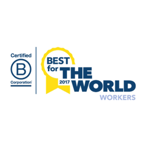 Enrollment Resources received the 2017 B Corp Best For The World Award: Best For Workers