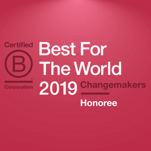 Enrollment Resources honored with 2019 Best For The World: Changemakers